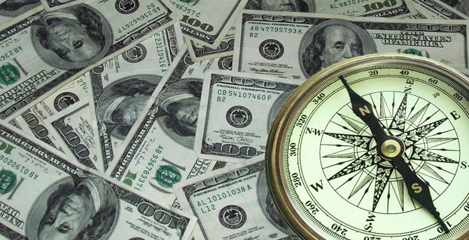 Money Big Compass